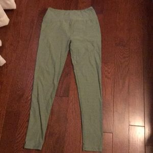 LuLaRoe | One Size Green leggings